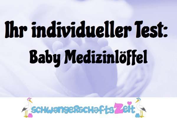 Baby Medizinlöffel