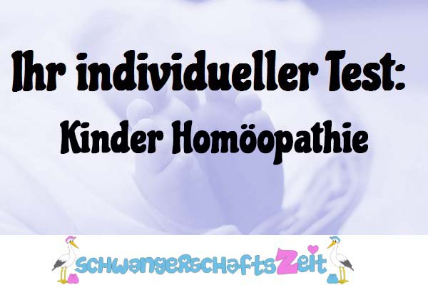 Kinder Homöopathie