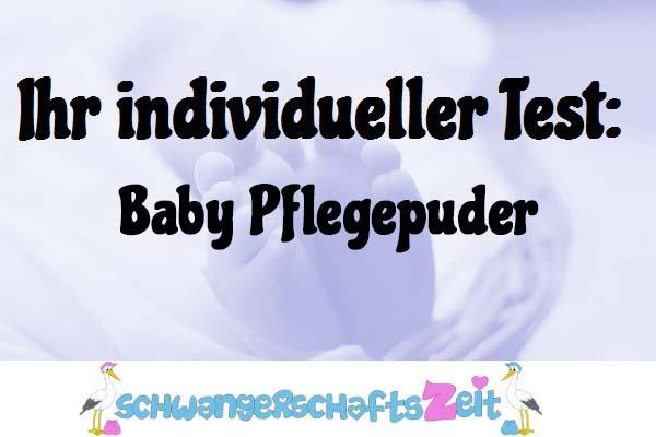 Baby Pflegepuder