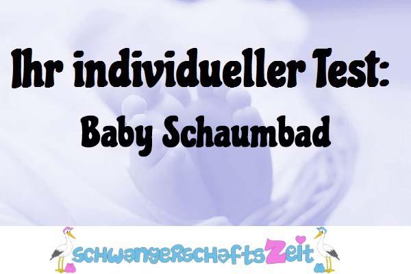 Baby Schaumbad