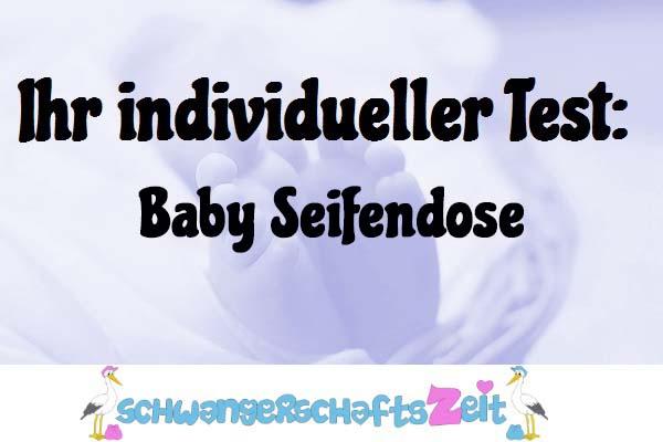 Baby Seifendose
