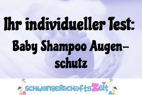 Baby Shampoo Augenschutz