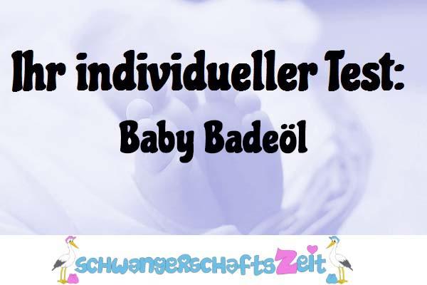 Baby Badeöl
