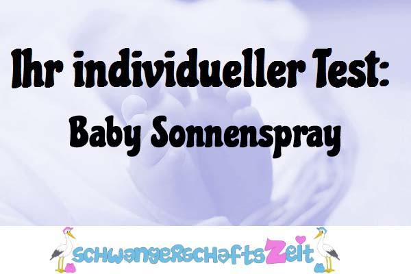 Baby Sonnenspray