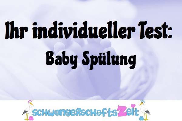 Baby Spülung