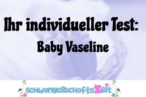 Baby Vaseline
