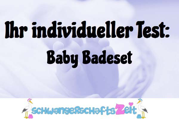 Baby Badeset
