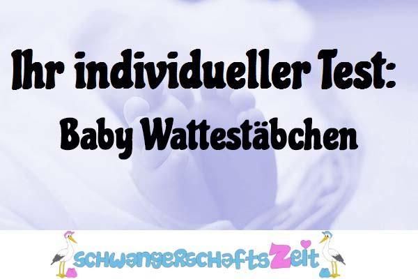 Baby Wattestäbchen