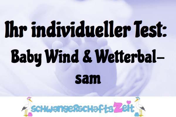 Baby Wind & Wetterbalsam