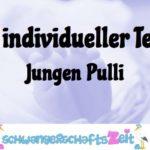 Ihr Test: Jungen Pulli