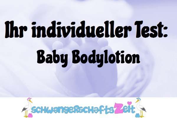 Baby Bodylotion