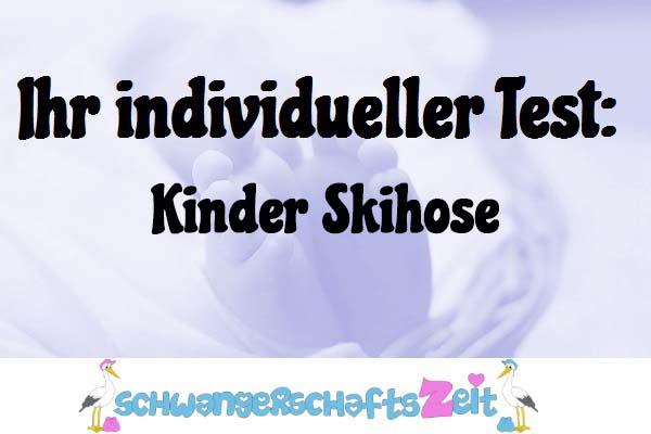 Kinder Skihose