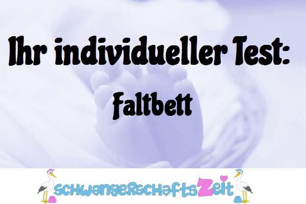 Faltbett