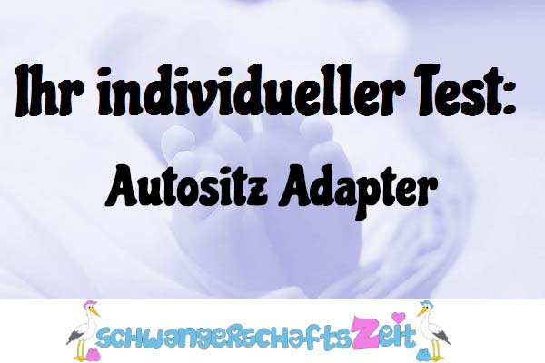 Autositz Adapter