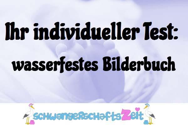 wasserfestes Bilderbuch