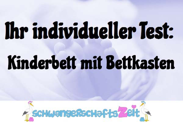 Kinderbett mit Bettkasten