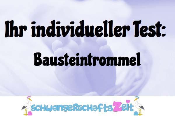 Bausteintrommel