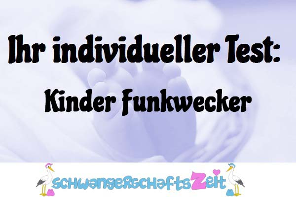 Kinder Funkwecker