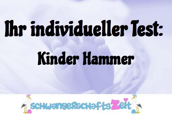 Kinder Hammer