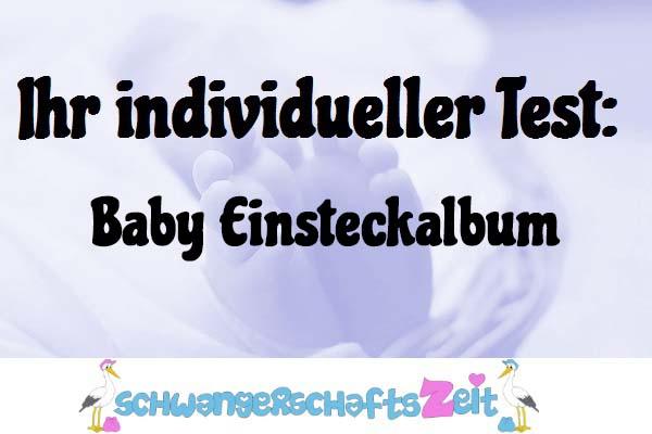 Baby Einsteckalbum