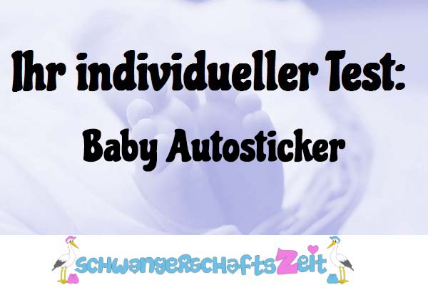 Baby Autosticker