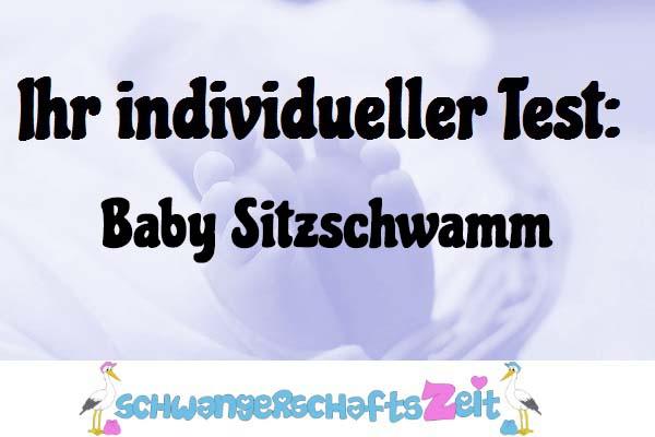 Baby Sitzschwamm