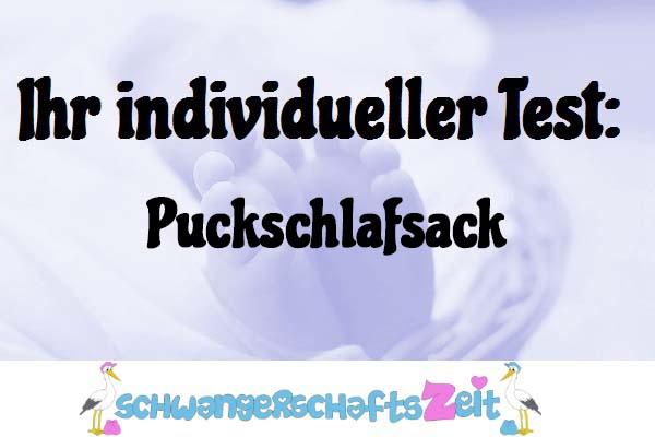 Puckschlafsack
