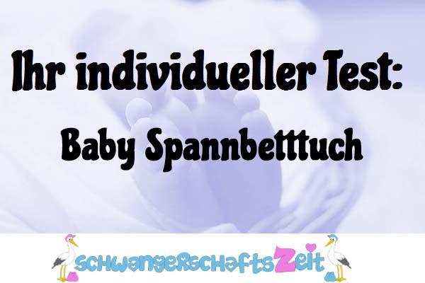 Baby Spannbetttuch