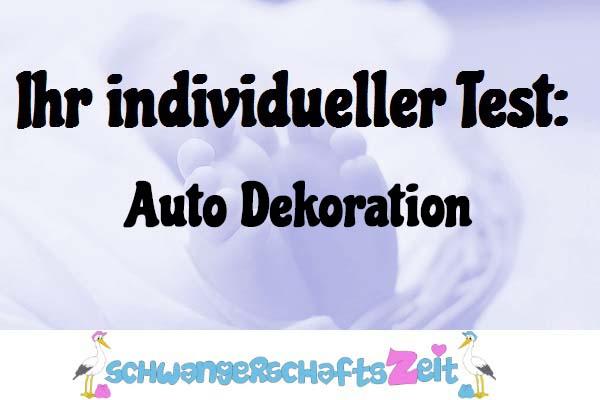 Auto Dekoration