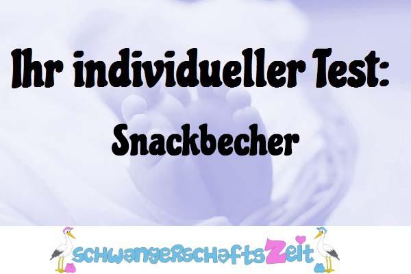 Snackbecher