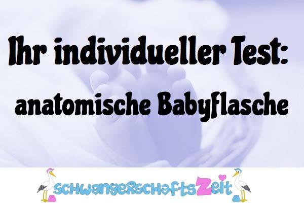 anatomische Babyflasche
