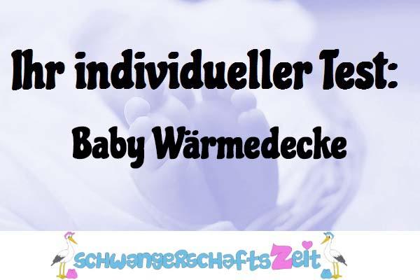 Baby Wärmedecke
