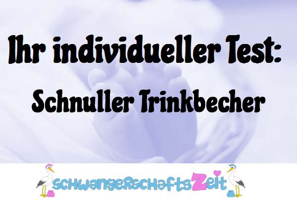 Schnuller Trinkbecher