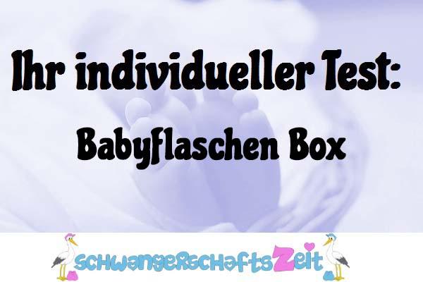 Babyflaschen Box
