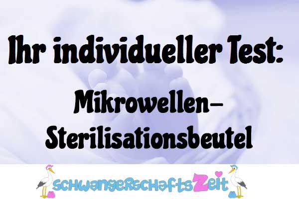 Mikrowellen Sterilisationsbeutel