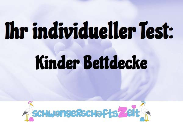 Kinder Bettdecke
