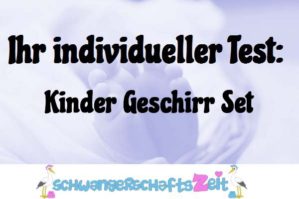 Kinder Geschirr Set
