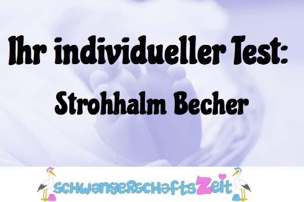 Strohhalm Becher