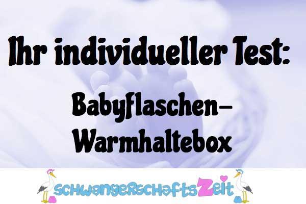 Babyflaschen Warmhaltebox