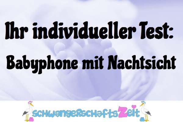 Babyphone mit Nachtsicht
