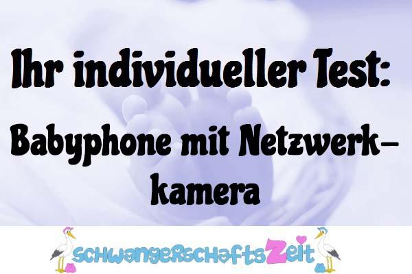 Babyphone mit Netzwerkkamera