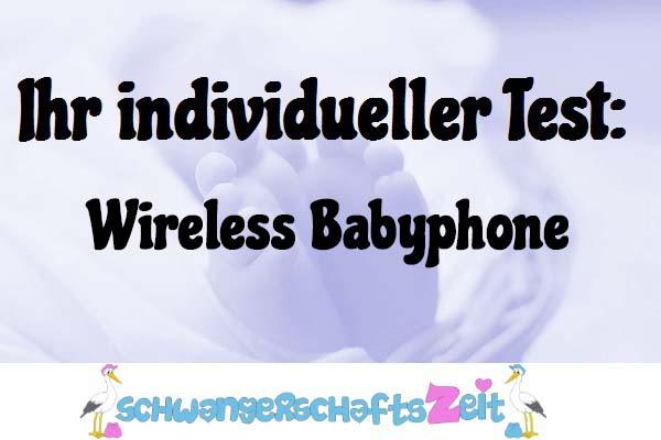 Wireless Babyphone