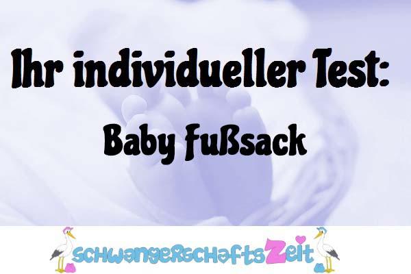 Baby Fußsack