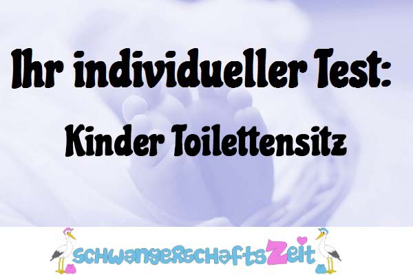 Kinder Toilettensitz