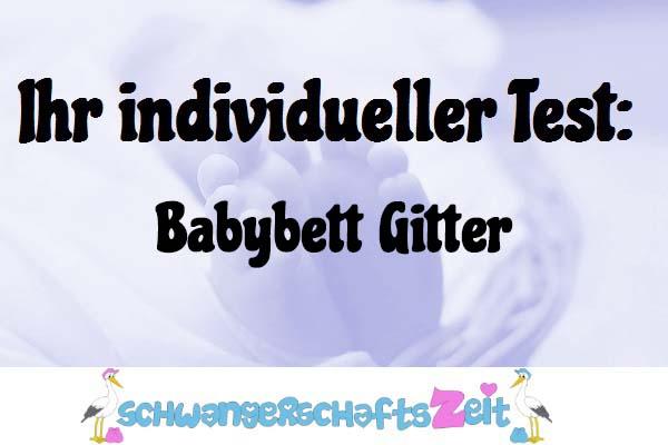 Babybett Gitter