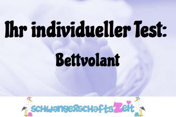 Bettvolant