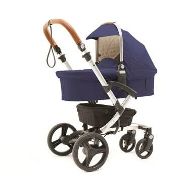 Bonavi Kinderwagen 2 in 1 Set - Farbe blau