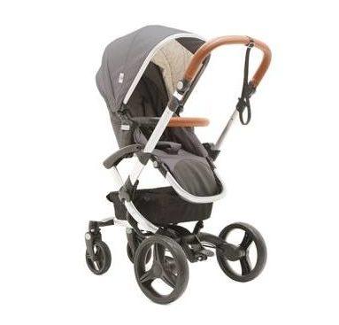 2 in 1 Bonavi Kinderwagen - Farbe grau