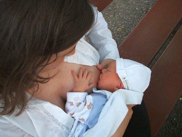 Stillen nach Kaiserschnitt