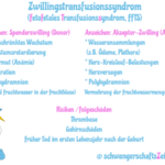 Zwillingstransfusionssyndrom: Symptome, Risiko & Behandlung